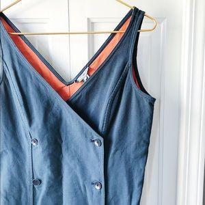 Bill Blass New York Button Up Dress